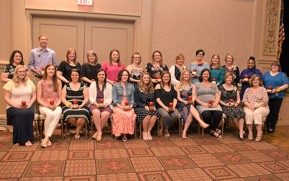 Educators of the Year group picture