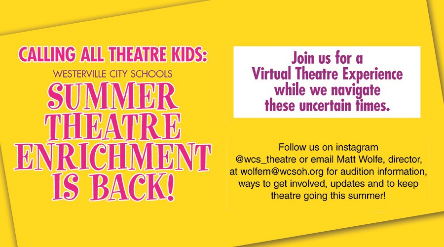 Summer Theatre Enrichment Banner