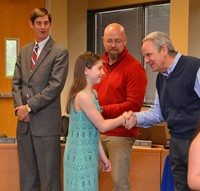 Alcott's Lily Wood Earns National Award of Merit in PTA Reflections Competition