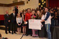 Cherrington Fifth Graders Donate Funds to Curt Jackowski Memorial Scholarship