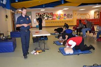 Westerville Schools Staff Learns CPR on Central OEA/NEA Day