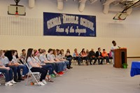 Genoa Inducts 97 into National Junior Honor Society