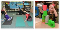 Health & Fitness Nights Enjoyed at Mark Twain and Robert Frost Elementary Schools