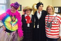 Alcott's Book Character Costume Day Benefits Wounded Warriors Project