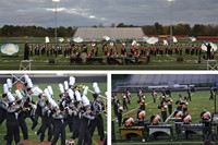 Local Marching Bands Compete at Mid-States Band Association Invitational