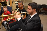 Blendon Jazz Students Learn from the Pros