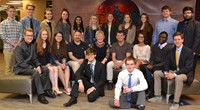 School Board Recognizes Test Winners, Buckeye Boys and Girls State Delegates