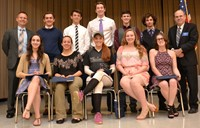 Westerville Kiwanis Honors Central Scholars at 54th Academic Varsity Awards Banquet