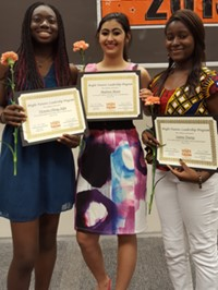 Three Westerville Central Students Earn YWCA Bright Futures Scholarships