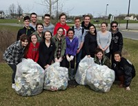 Central Students Work to Keep School Grounds Clean and Safe for Wildlife