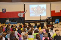 Award-Winning Writer/Photographer Michael Patrick O'Neill Visits Elementary Schools