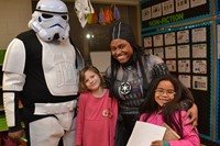 Family Literacy Night Draws Enthusiastic Crowd of Readers at Cherrington