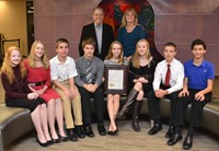 Genoa's Future City Champions Honored by Board of Education