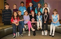School Board Recognizes Students who Competed in Ohio PTA State Reflections Contest