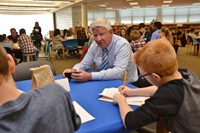 History Comes to Life through Oral Interviews at Genoa Middle School