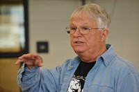 Author/Storyteller Jim Flanagan Conducts Writing Workshop with Genoa Students