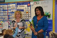German Educators Visit Hanby Elementary