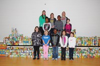 Hawthorne Elementary Food Drive Nets 2,725 Pounds of Canned Fruit for W.A.R.M.