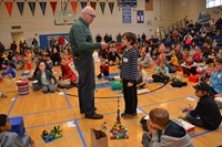 Fouse Student Wins Top Honors at District's 10th Annual Lego Competition