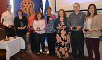 Sunrise Rotary Recognizes 2015-2016 Service to Youth Award Winners