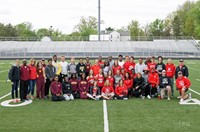 Westerville North and South Join Forces to Celebrate Senior Track & Field Athletes