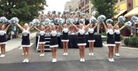 Central's Band and Cheerleaders Perform at Back to School Expo