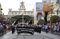 Westerville Central Marching Band performs at Disney World.
