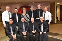 Picture of the Westerville Central Boys Bowling team and coaches
