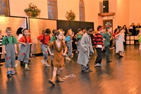 Hanby second graders perform an endearing Peter Pan dance