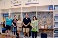 """Creation Station"" Dedicated at Hawthorne Elementary School"