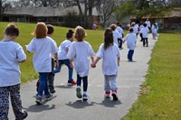 Huber Ridge students walk and raise money for their school