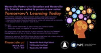 Tomorrow's Learning Today Invitation with same information as the press release