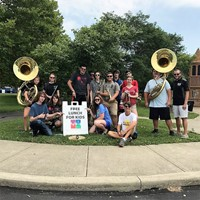 Westerville Central Marching Band leadership team
