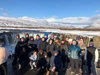 The breathtaking scenery captivated pupils in Iceland.