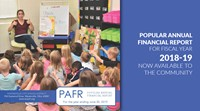 2018-2019 Popular Annual Financial Report now available
