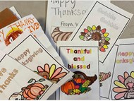 Thanksgiving cards to WARM