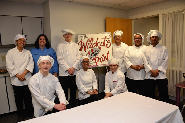 Delaware Area Career Center students pamper staff at Westerville South.