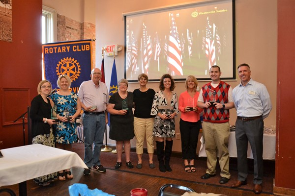 Sunrise Rotary recognizes 2016-2017 Service to Youth winners.