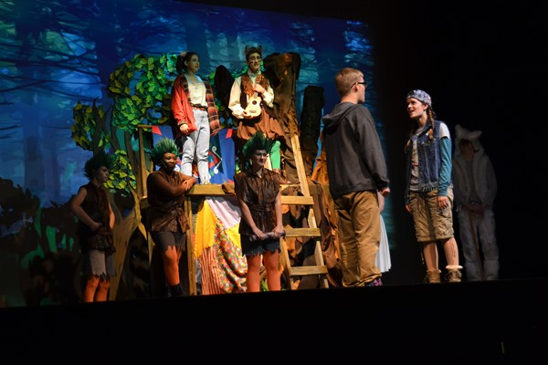 "South thespians performed ""Bridge to Terabithia"" for elementary kids."