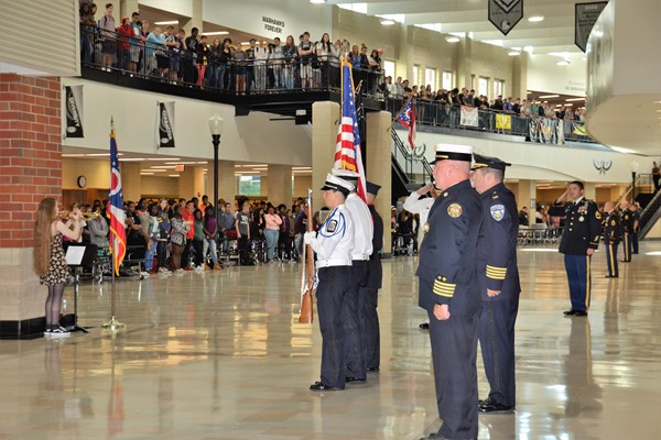 Westerville Central hosted its annual September 11 Remembrance Ceremony.