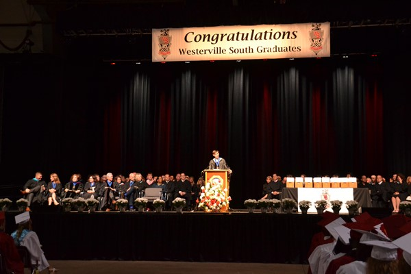 South Commencement 2016 Superintendent speaks