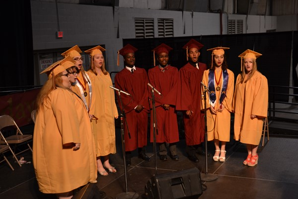 North Commencement 2016 Singers