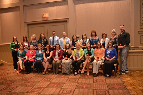 The Westerville Education Association honored Educators of the Year.