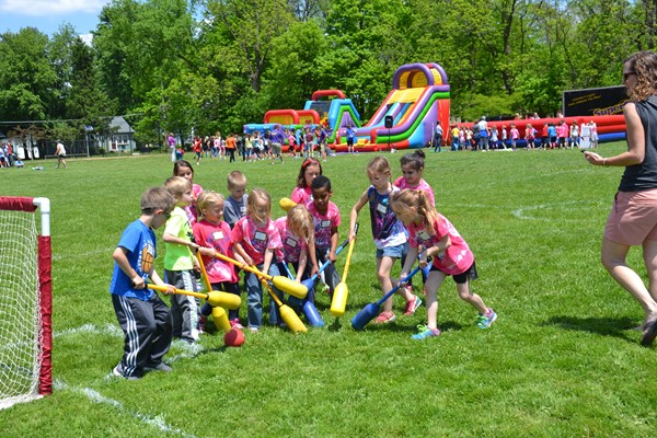 Whittier students celebrated the end of the school year with Super Games.